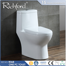 Malaysia/Thailand/Taiwan standard bathroom one piece toilet