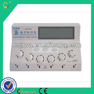 Electric Health Equipment Acupuncture Therapy 6 Channels Electroacupuncture Stimulator with Electrods
