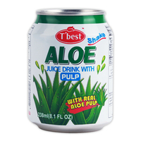 T'best Fruit Juice Drink with pulp_238ml_Aloe