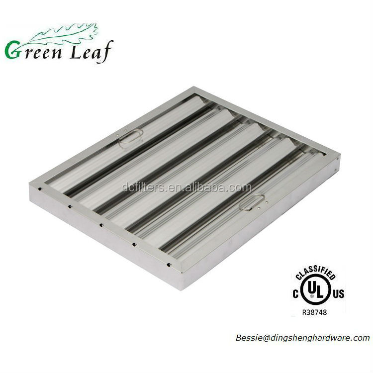 UL Approved American Standard safe&Efficient grease filter