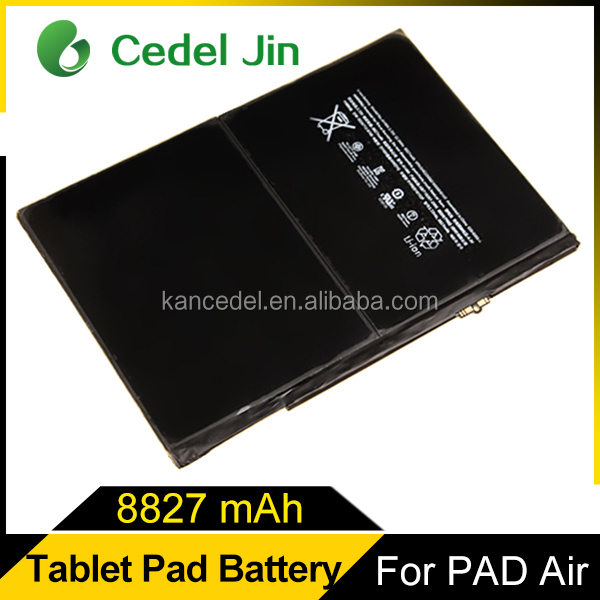 for iPad 5 iPad Air Apple laptop battery msds, smart phone accessories