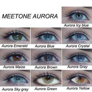 Very hot sale Meetone aurora contact lenses korea wholesale