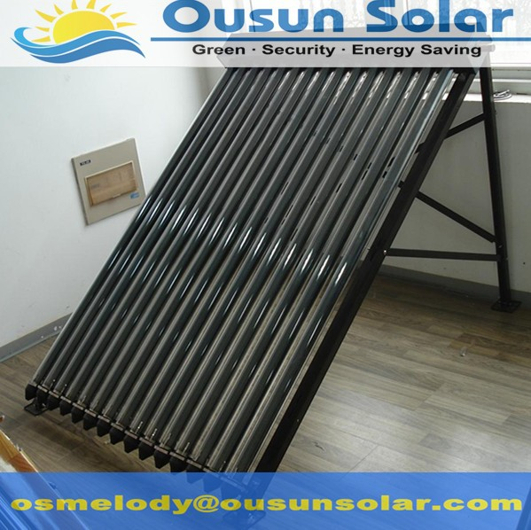 Freestanding high quality heat pipes solar water heating panel price