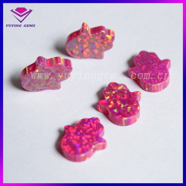 high quality imitation fired opal gemstone for wholesale