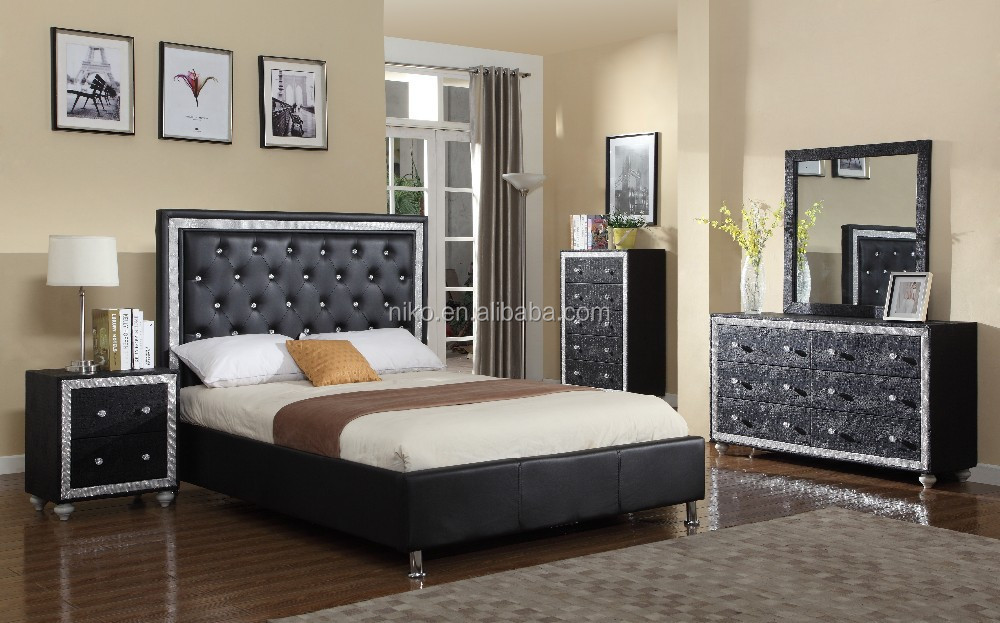 2016 venta caliente moderna sala de juego de cama, cama de madera ...