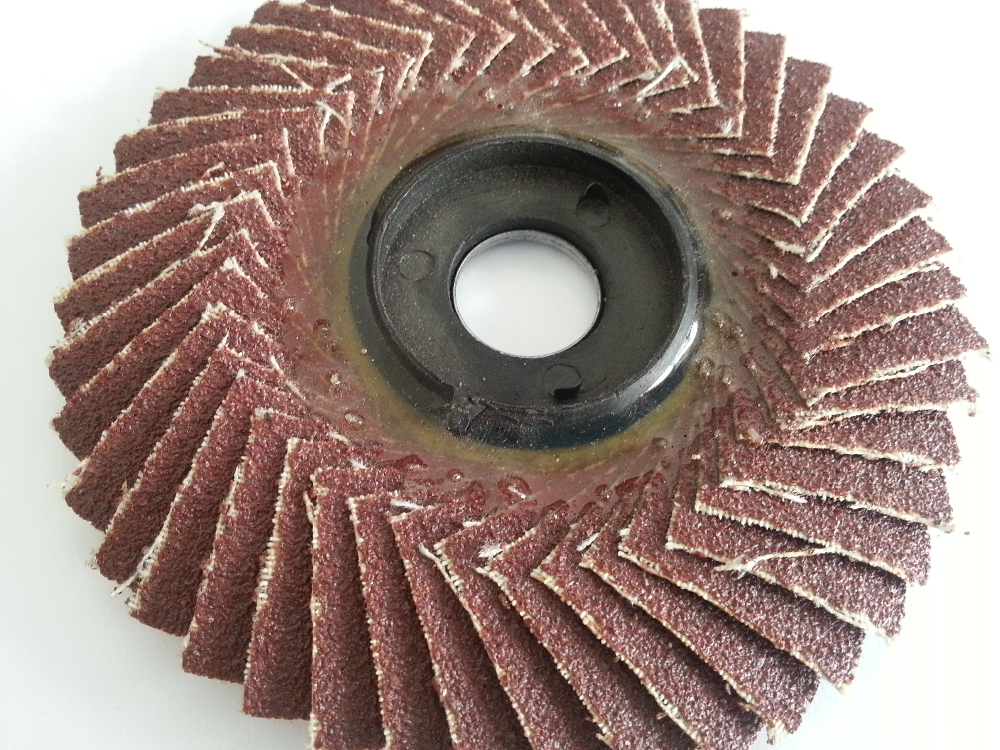 180*22mm Fiberglass Synthetic Resin Adhesive Flap Disc for Grinding and Polishing