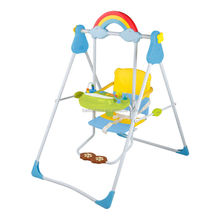 high quality musical toys hanging outdoor plastic baby swing