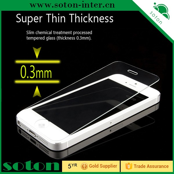 cool phone accessories s6 edge tempered glass screen protector for iphone 5s