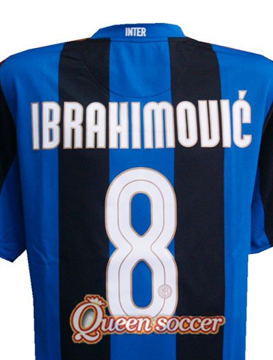new arrival 7d9e0 119f7 Ibrahimovic Inter Milan 08 / 09 Home Soccer Jersey Shirt - Buy Soccer Shirt  Product on Alibaba.com