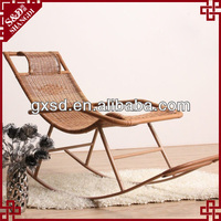 chinese cheap handmade durable bamboo bedroom furniture rocking chair