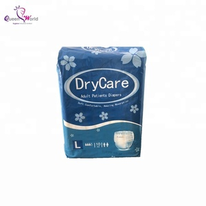 OEM free sample economic ultra thin adult baby diaper with wet indicator