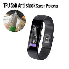 Accept paypal anti shock screen protector film for Microsoft Band 2 fashion smart bracelet
