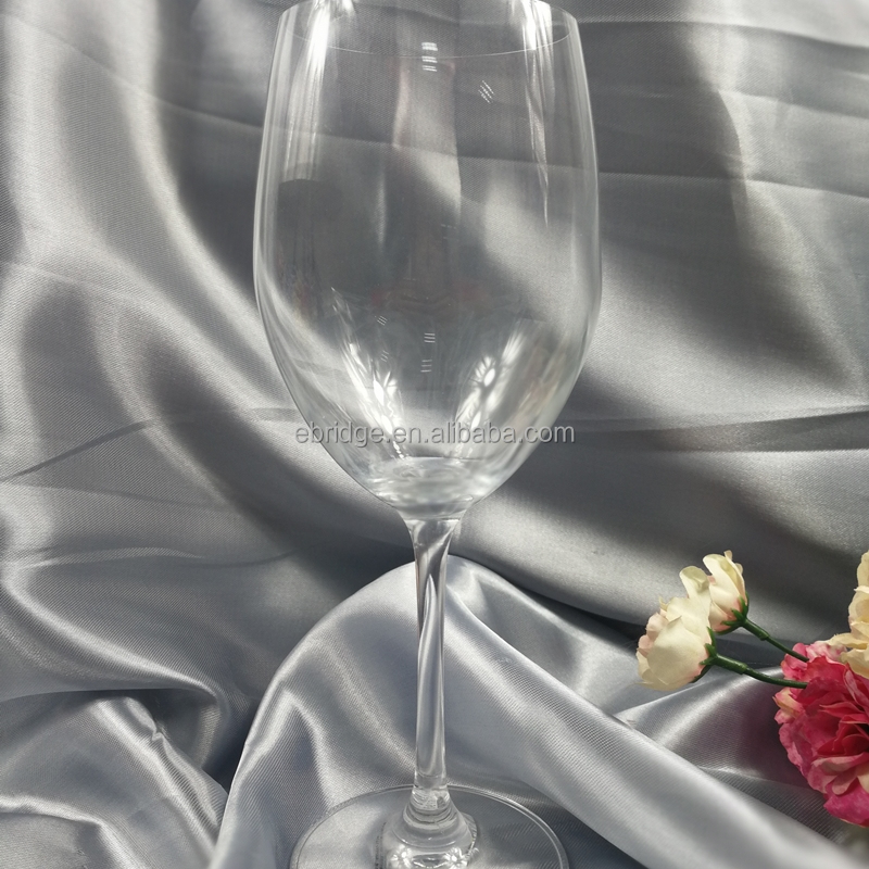 hot sale handcrafted lead-free crystal red wine glass/glass goblet