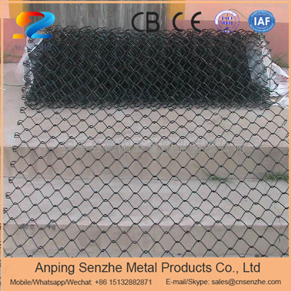 2.0mm before coated chain link fence galvanized temporary wire mes with CE certificate