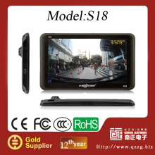 "7""Universal Car GPS Navigation System+Bluetooth,+AVIN+8GB+ISDB-T+Digital TV+ FMT MP3 MP4 EBOOK Free Map Voice Guider"