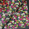 flower film foiled PU artifical leather for bags,shoes