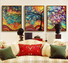 2016 Modern lovely kids oil painting on canvas for children room decoration