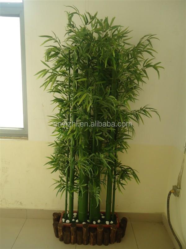 Yzp000079 artificial planta de bambu atacado handmade rvore de pl stico para decora o de - Bambu planta exterior ...