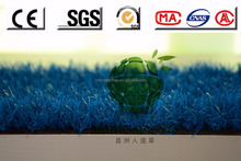 Expert Wholesale Blue Artificial Grass or Synthetic turf
