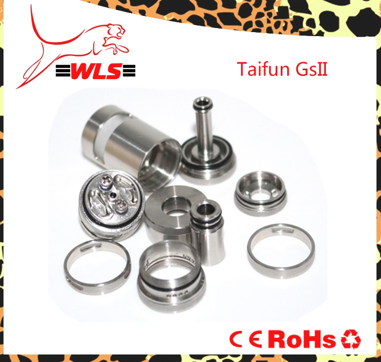 Vapcell Hot selling electronic accessories taifun gs2 22mm wickless atomizer