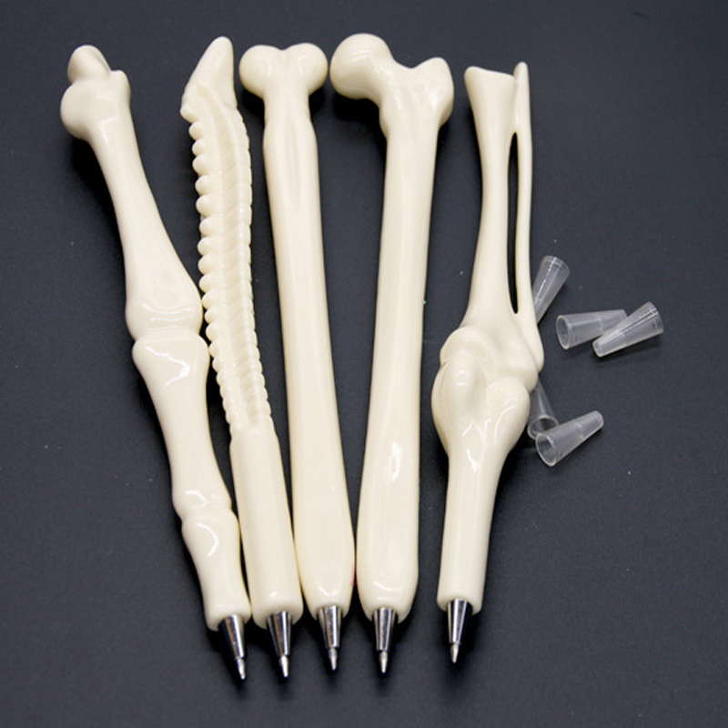 Plastic cheap medical pen bone shape pen