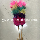 China fábrica por atacado casa de três cores feather duster