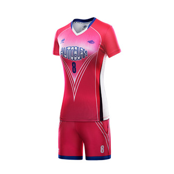professional design your own short sleeve volleyball jersey for women 37b82798f5