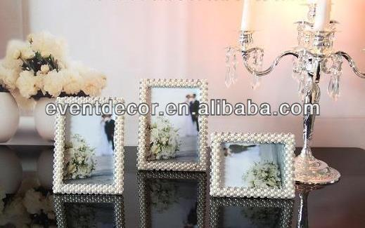 2014 beautiful heze kaixin pearl photo frames for weddings decoration