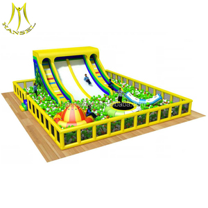 Hansel children indoor playground million ball pool play center and indoor playground ball pool with kids playground