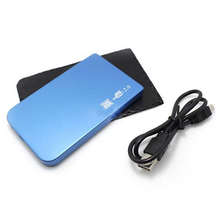 HD externo disco duro externo HDD caddy 2.0 USB 2.5 pollice <span class=keywords><strong>SATA</strong></span> HDD Box HDD Hard Drive Disk <span class=keywords><strong>SATA</strong></span> External