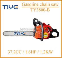 Single Phrase One Man Handle Chain Saw Machine 38cc