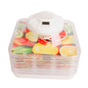6 trays Food Dehydrator 220V Home Mini Fruit Dehydrator Fruit Dryer