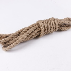 factory supplied natural Jute Yarn Twine Rope