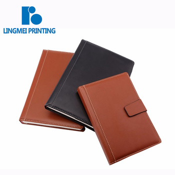 Promotional Customized Size pantone color hardcover a4 leather cheap journals notebooks sketchbook printing