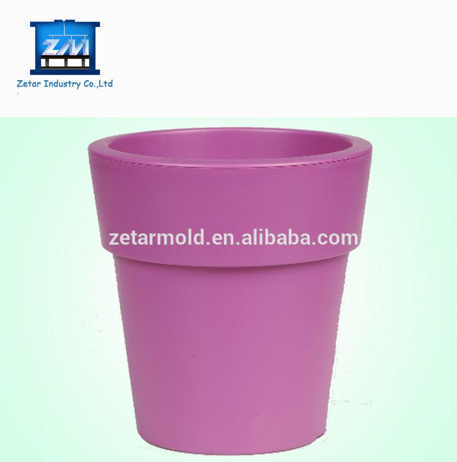 home garden Injection Moulding colorful plastic Flower Pots
