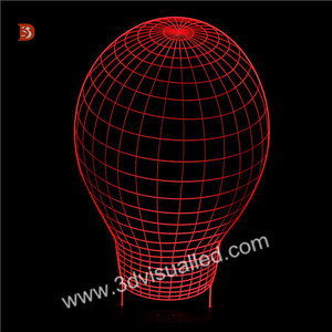 Fantastic Led Desk Lamp 3D Led Light Bulb for Home Decoration