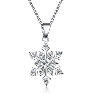Promo fashion custom-made 925 sterling silver necklace with diamond