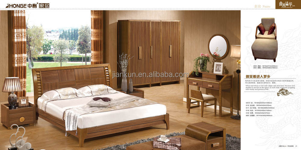 6105 mdf space saving bedroom furniture made in vietnam, View ...