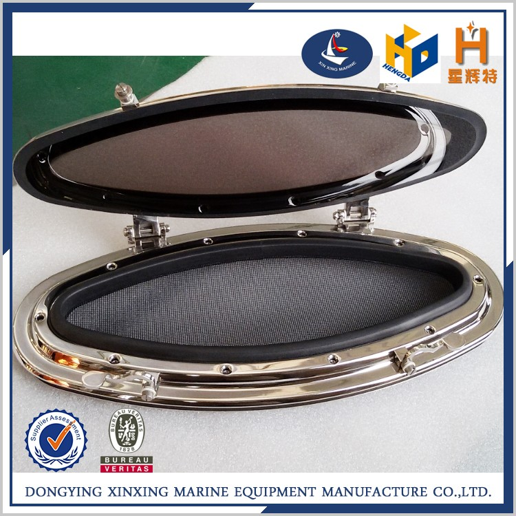 High quality china aluminum oval portlight marine