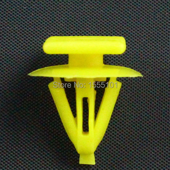 500x Auto Plastic Fasteners Clips Door Trim Panel Retainer