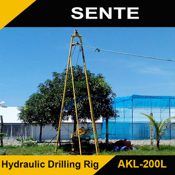 Durable AKL-200L hydraulic water well drilling machine