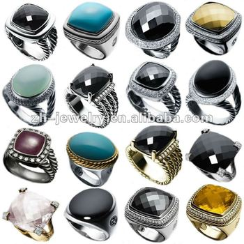 gemstone rings jewelry