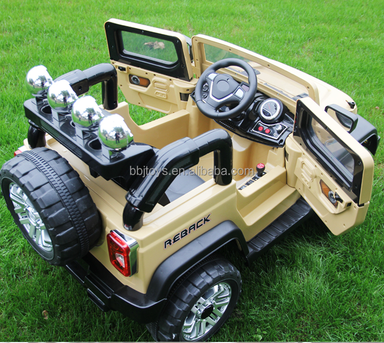 Battery Car Electric Toy For Kids Drive Plastic Children Ride