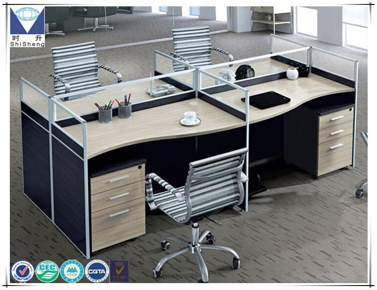Moderne côté armoire poste de travail personne en bois mobilier