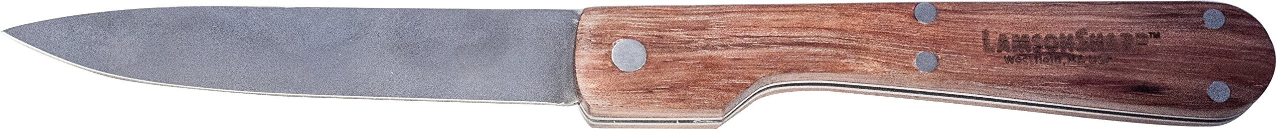 "Lamson Folding Utility Knife, Walnut Handle, 5-1/4"" Blade"