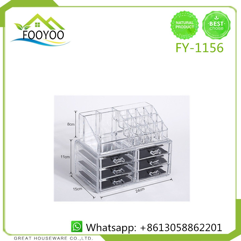 Lipstick bathroom set - Fooyoo Fy 1156 Bathroom Sets Lipstick Cosmetic Organizer Cosmetic Counter Display Jewelry Storage Box