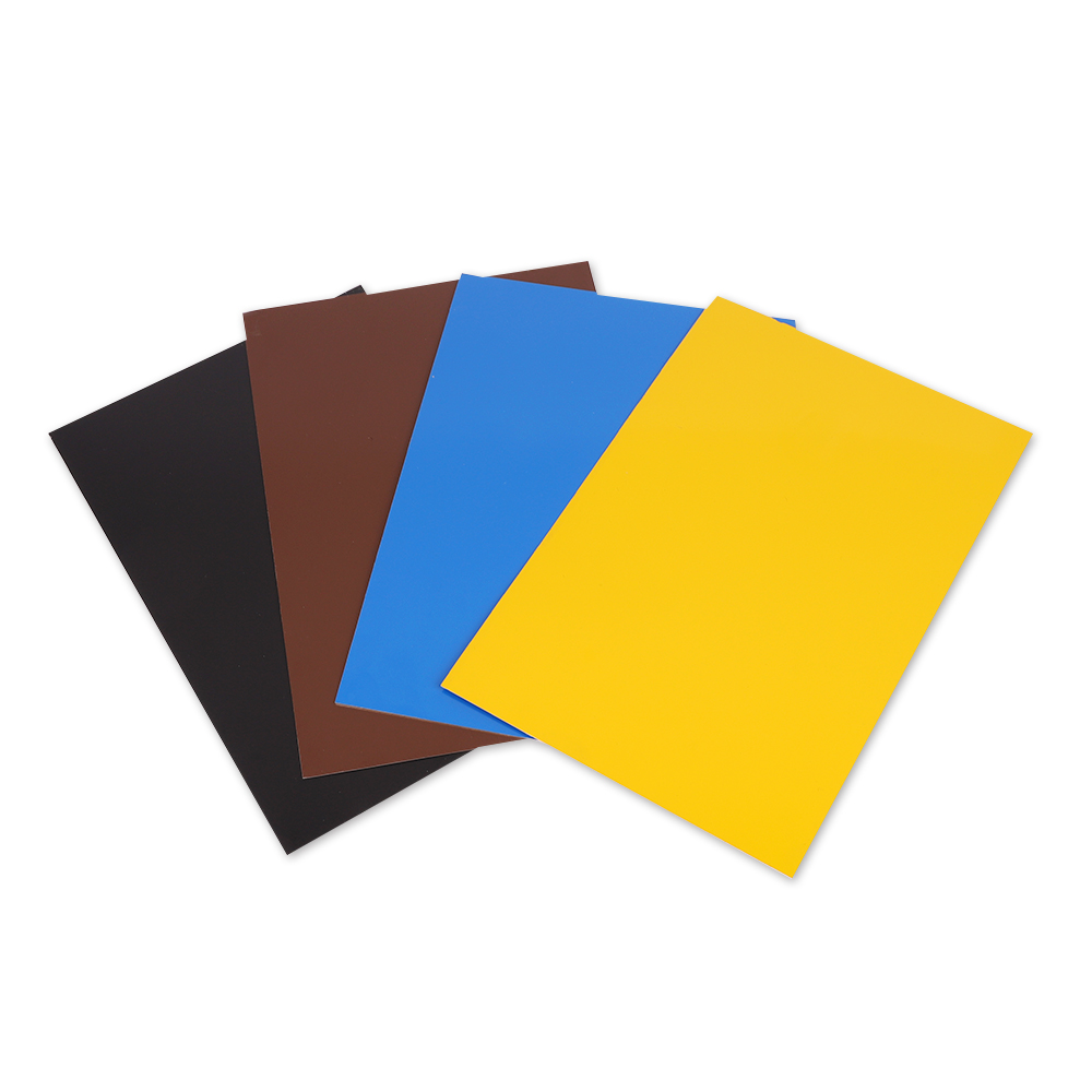 China wholesale cost price color coated prepainted  aluminum sheet metal prices
