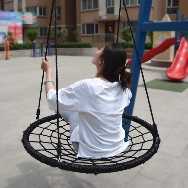 Round Outdoor Double Kid Chair Adult Baby Swing Buy Adult Baby