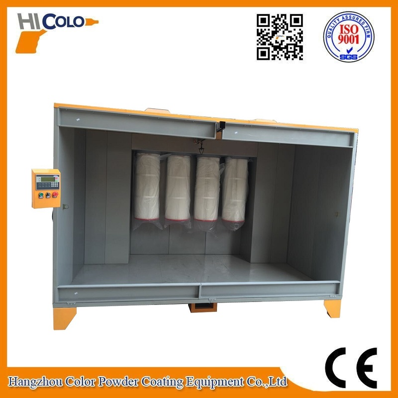 COLO-S-2315 Spray Booth with Powder Recovery System