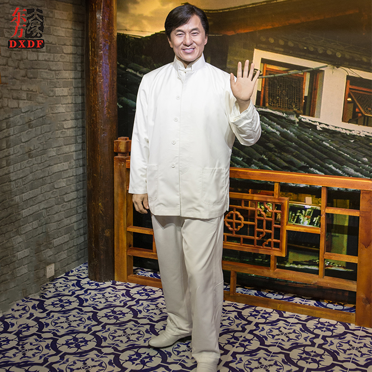 Simulation Celebrities Wax Figure Lifesize for Exhibition